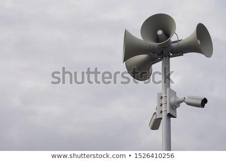 Buis stijl afbeelding een vrouw praten Stockfoto © xochicalco