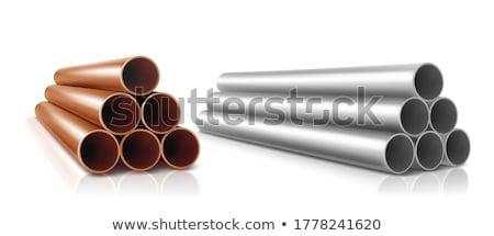 Stock photo: PVC tube