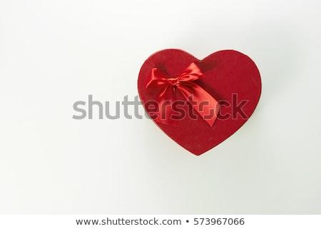 фиолетовый окна формы сердца белый счастливым рождения Сток-фото © stoonn