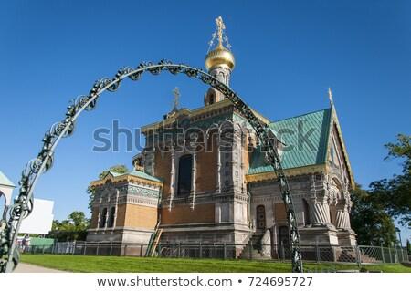 Russian Chapel in Darmstadt Stock photo © claudiodivizia