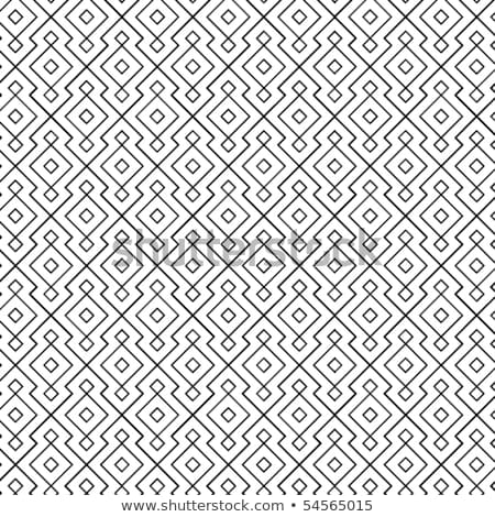 seamless interlocking mesh geometric pattern  Stock photo © creative_stock
