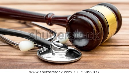 Justicia manos ancianos hospital paciente Foto stock © Lightsource