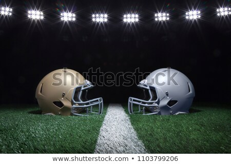Football Faceoff Stock photo © burakowski