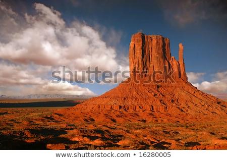 Striking Landscape in Monument Valley, Navajo Nation, Arizona  Stock photo © meinzahn