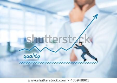 Jakości zarządzania konsultant biznesmen biuro Zdjęcia stock © stevanovicigor