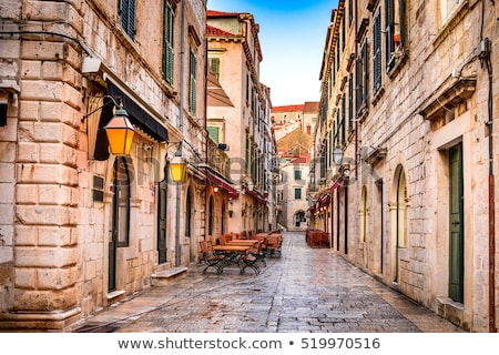 street in croatia stock photo © joyr
