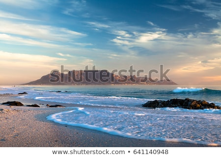 Beaches and Table Mountain  stock photo © ottoduplessis