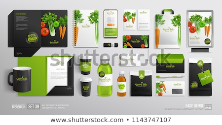 Folder with the label Products Stock photo © Zerbor