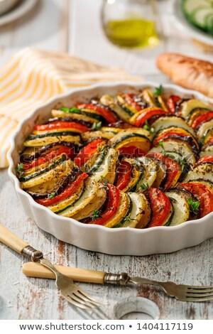 растительное · свежие · помидоров · цуккини · баклажан · продовольствие - Сток-фото © m-studio