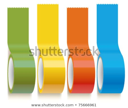Roll of Green Adhesive Tape Stock photo © Discovod