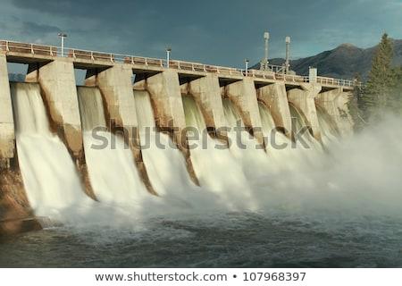 Kananaskis Hydro Electric Power Dam Stock photo © skylight