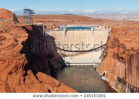 Desfiladeiro página Arizona natureza paisagem poder Foto stock © meinzahn