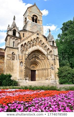 Capela castelo Budapeste Hungria céu cidade Foto stock © Spectral