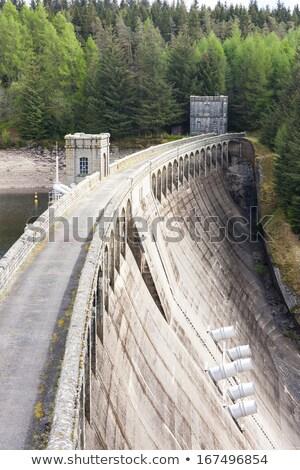 Dam in the Highlands, Scotland Stock photo © michaklootwijk