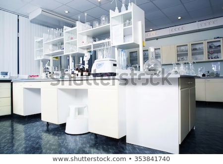 Equipment of a chemical laboratory Stock photo © uatp1