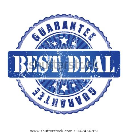 Legjobb üzlet kék körkörös vektor gomb Stock fotó © rizwanali3d