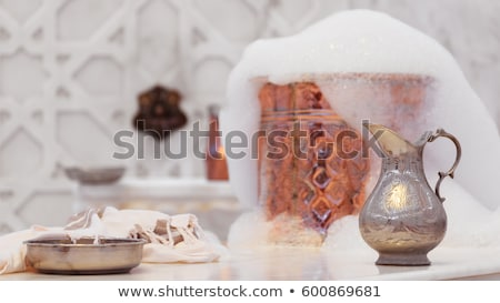 Török kerámia csempe római stílus fa Stock fotó © olira