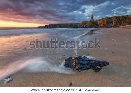 嵐 ビーチ 悪い 海 ストックフォト © morrbyte
