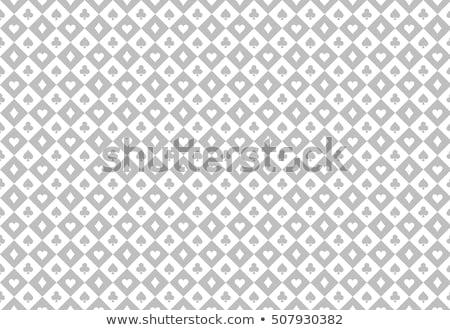 Photo stock: Luxury Light Poker Background With Card Symbols