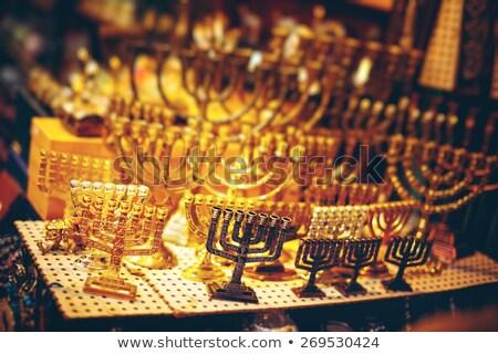 Старый · город · Иерусалима · базарная · площадь · шоу · случае · восточный · базар · аннотация - Сток-фото © dariazu