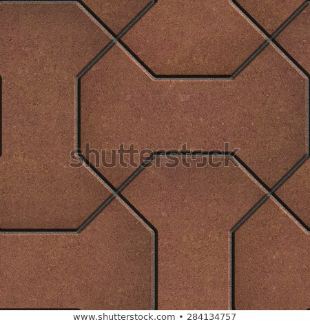 Pattern Comprising Polygons Red-Brown. Stock photo © tashatuvango