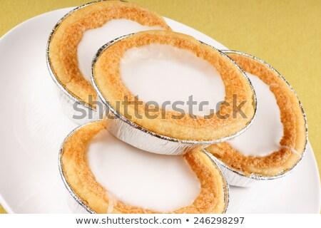 Mini Swedish almond tarts Stock photo © aladin66