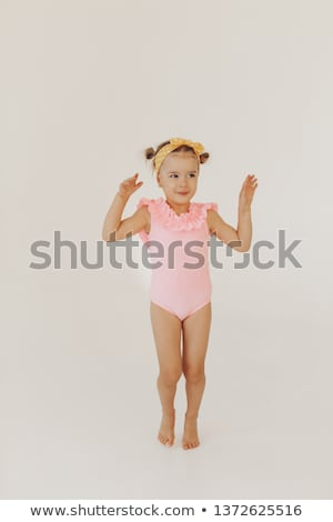 Attractive girl in bathing suit Stock photo © Aikon