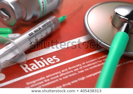 zapobieganie · medycznych · zamazany · jasnozielony · pigułki · strzykawki - zdjęcia stock © tashatuvango