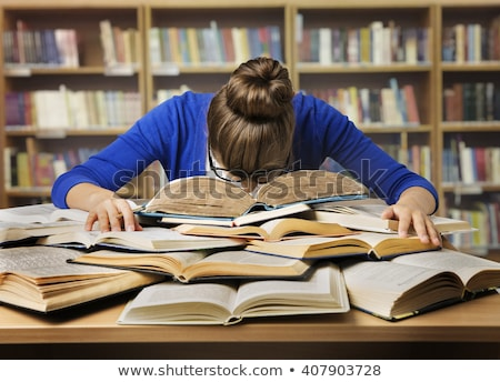 Study Hard Stock photo © fatalsweets