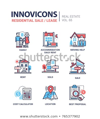 Best Collection Blue Vector Icon Design Stock photo © rizwanali3d