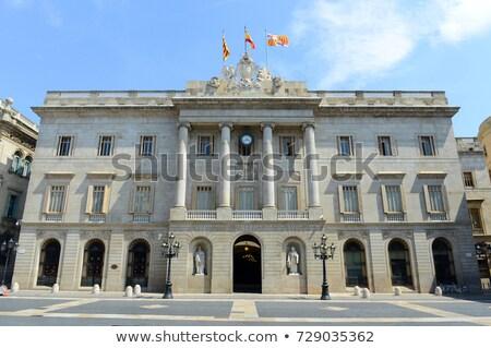 Cidade ouvir Barcelona gótico europa Foto stock © magraphics