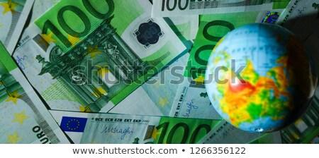 Dinheiro mapa europa papel mundo fundo Foto stock © Paha_L