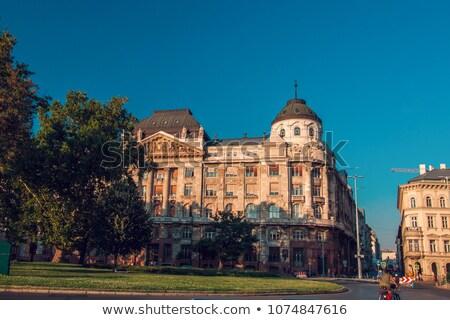 Budapeste interno ministério edifício cidade Hungria Foto stock © tony4urban
