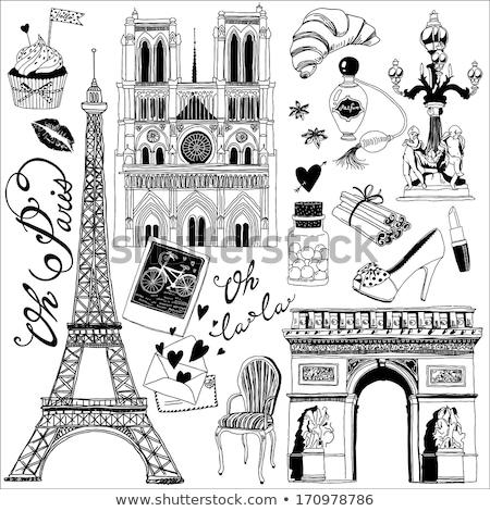 parfume love in paris Stock photo © netkov1