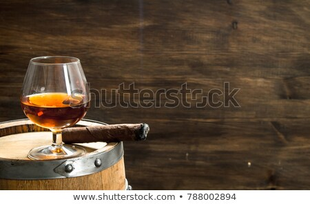 Rum and Cigar Stock photo © dayzeren