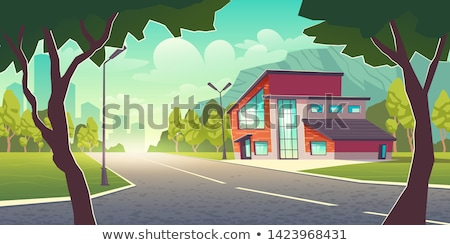 Luxury Residential District Stock photo © zhekos