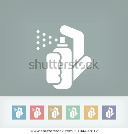 Pepper Spray Icon Сток-фото © Myvector