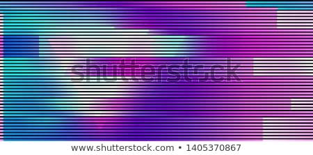 színes · képernyő · tv · illusztráció · vektor · szín - stock fotó © m_pavlov