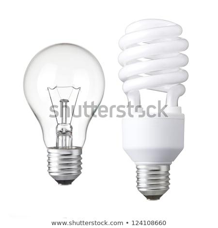 fluorescencyjny · energii · oszczędność · żarówki · świetle · elektrycznej - zdjęcia stock © rastudio