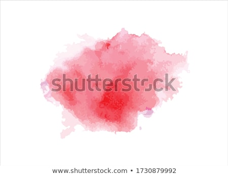 watercolor stain in pink color vector design illustration Stock photo © SArts