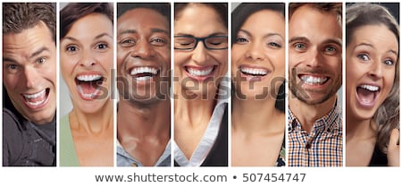 Group of smiling girls Stock photo © Aikon