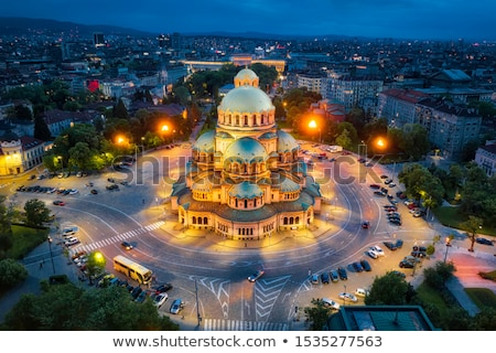 Alexander Nevsky Cathedral, Sofia, Bulgaria Stock photo © joyr