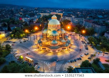 Catedral Sófia Bulgária centro céu edifício Foto stock © joyr