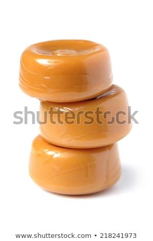 Karmel candy biały żywności nikt jeden Zdjęcia stock © Digifoodstock