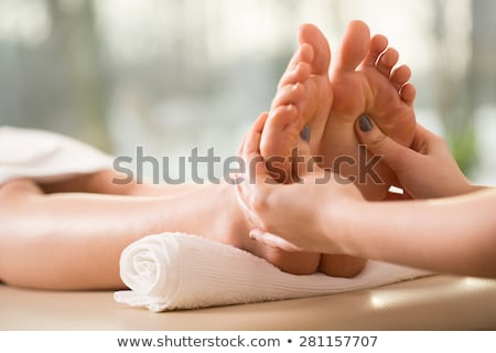 foot reflexology Stock photo © adrenalina