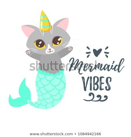 Vetor desenho animado estilo ilustração feliz bonitinho Foto stock © curiosity