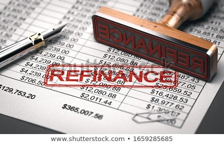 Concept of Refinancing. 3D Illustration. Stock photo © tashatuvango