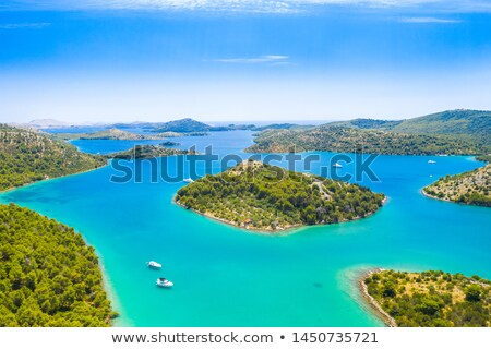 turquoise beach of dugi otok island stock photo © xbrchx