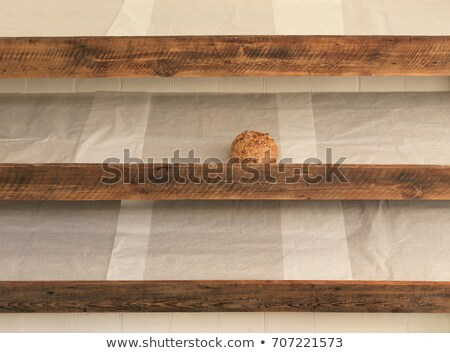 Sole remaining bread on shelf in bakery Stock photo © IS2