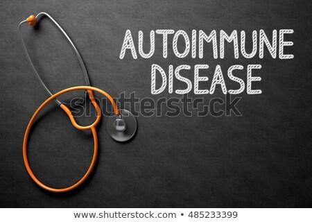 聴診器 · 黒板 · 骨粗しょう症 · 病院 · 薬 · 錠剤 - ストックフォト © tashatuvango